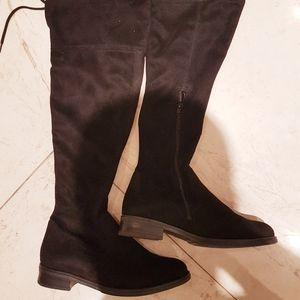 Remonte tall boots suede